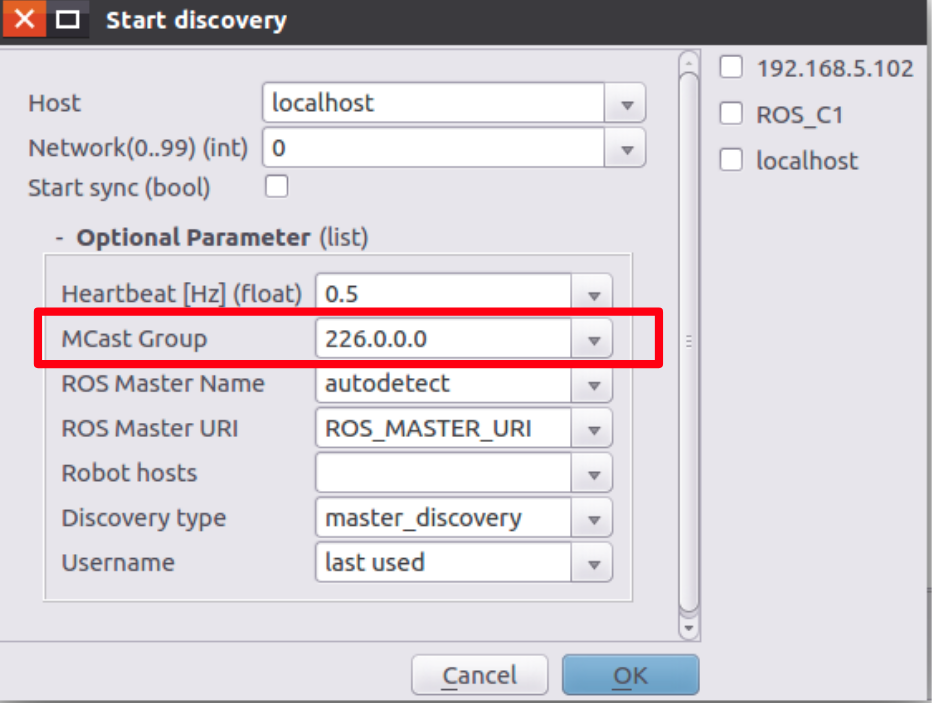 <img>Figure 9 Start discovery dialog window.