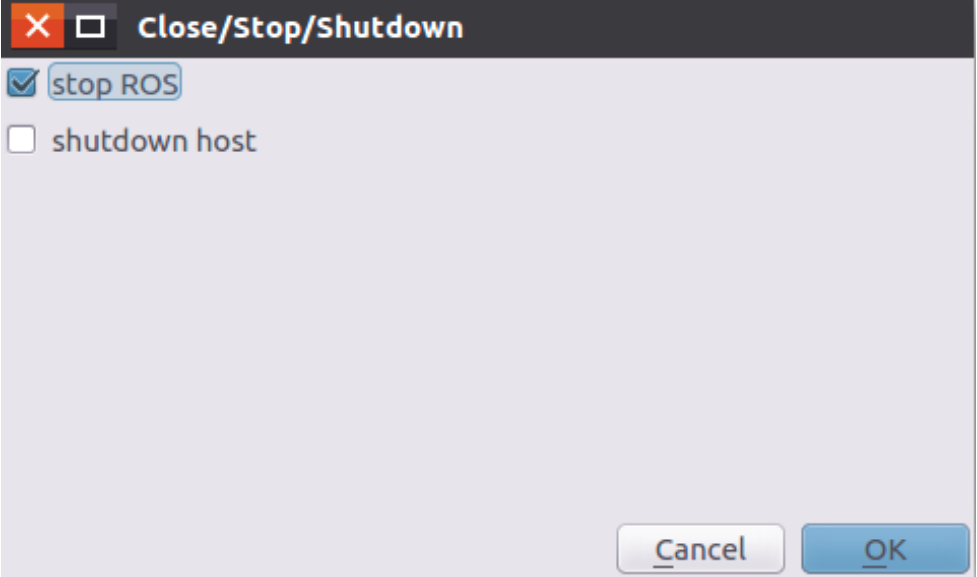 "<img>Figure 19 The ""Close/Stop/Shutdown"" dialog."