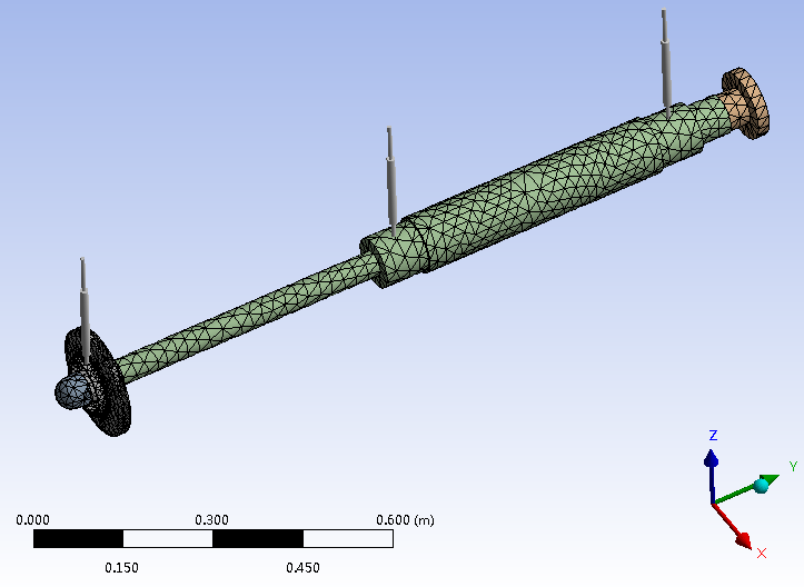 Rotordynamic analysis using ANSYS Workbench with solid