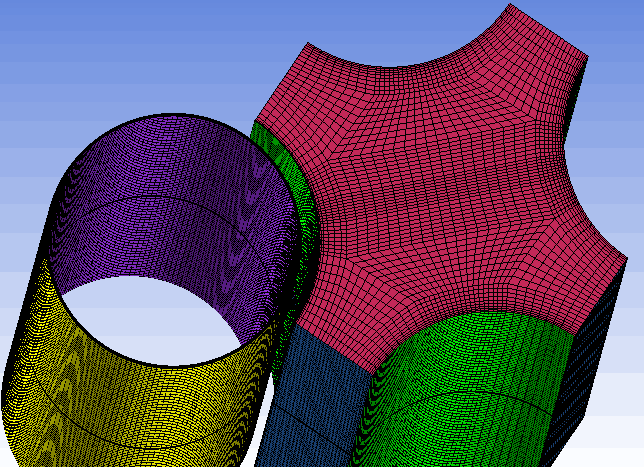 <img>Iso-view of the mesh