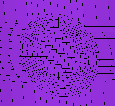 <img>Mesh of the imaginary hole